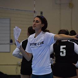 Coach Leah Kauffman