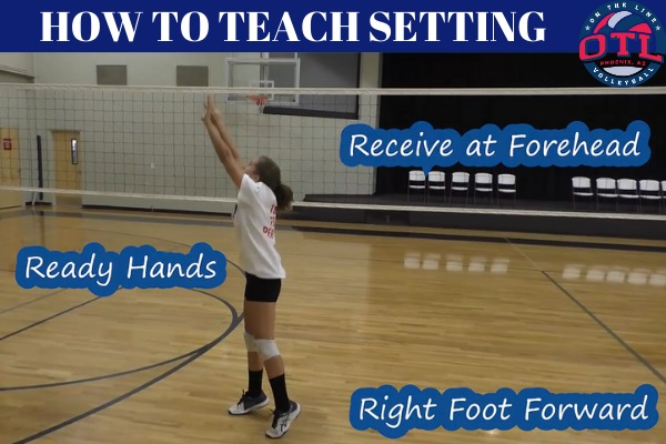 How To Teach Setting In Volleyball