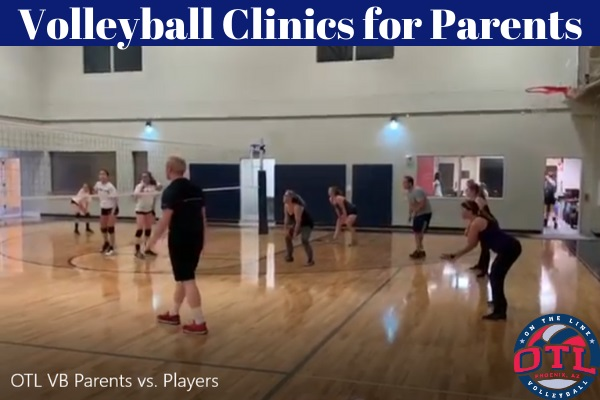 Volleyball Clinics For Parents